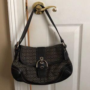 Black Coach Shoulder Bag!